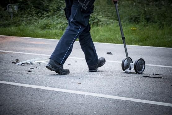 Bei hohen Sachschäden muss die Polizei zum Unfall hinzugezogen werden