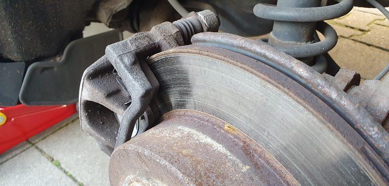 Disque de frein avec garniture de frein
