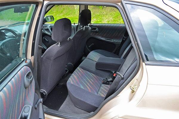 Opel Astra GLS Rücksitz