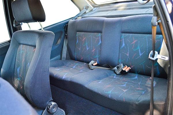 Polo Coupé Rücksitz