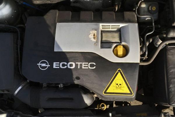 Opel Astra Cabriolet Motor