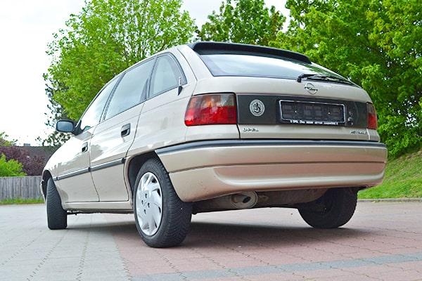 Opel Astra GLS Frosch