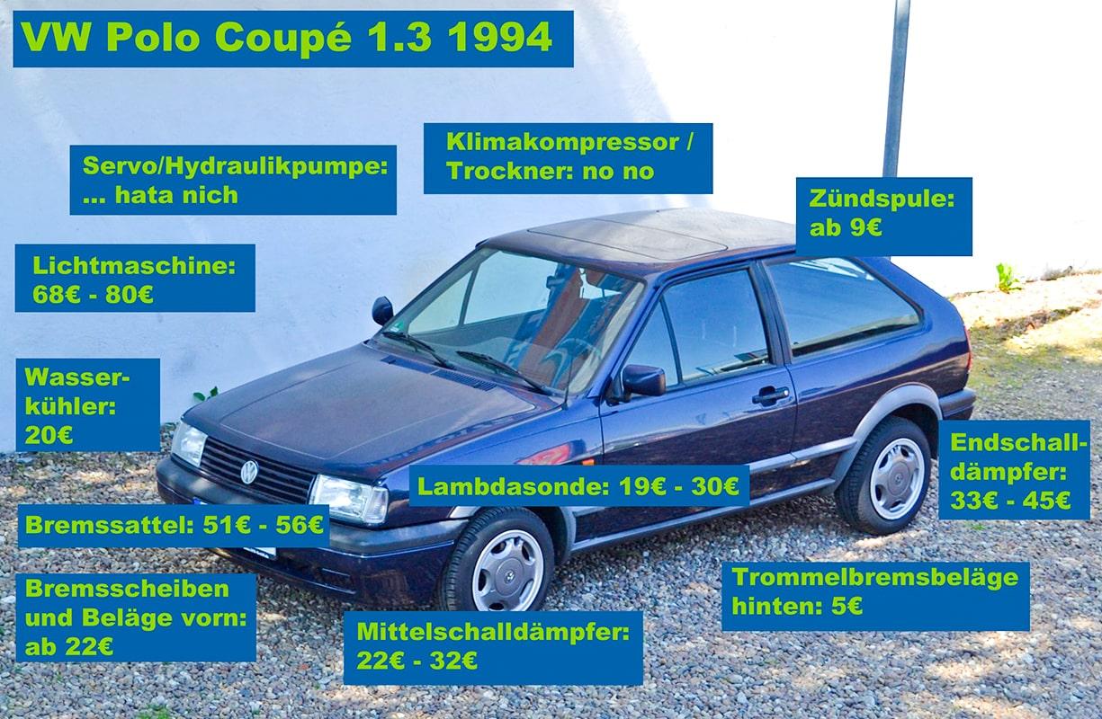 Polo Coupé Ersatzteile