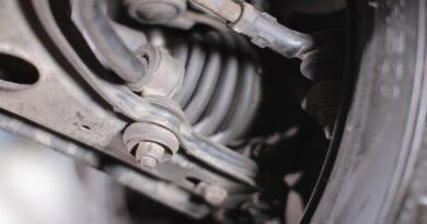 Koppelstange im Auto